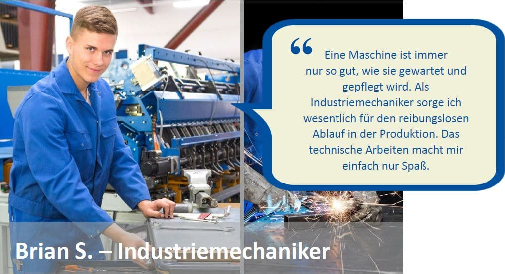 Brian S. - Industriemechaniker